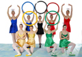 Salisbury Dance Studios Shows - 2012 - On Your Marks... Olympic Rings